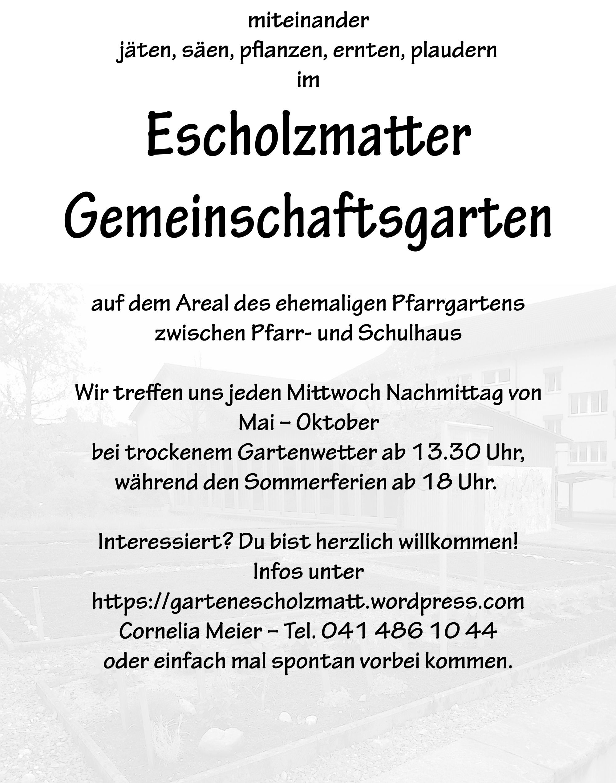 50 Jahre Genossenschaft fr Wohnungsbau Escholzmatt (GWE)